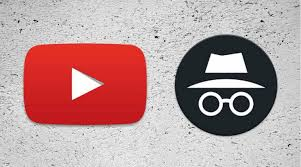 Open YouTube in Incognito