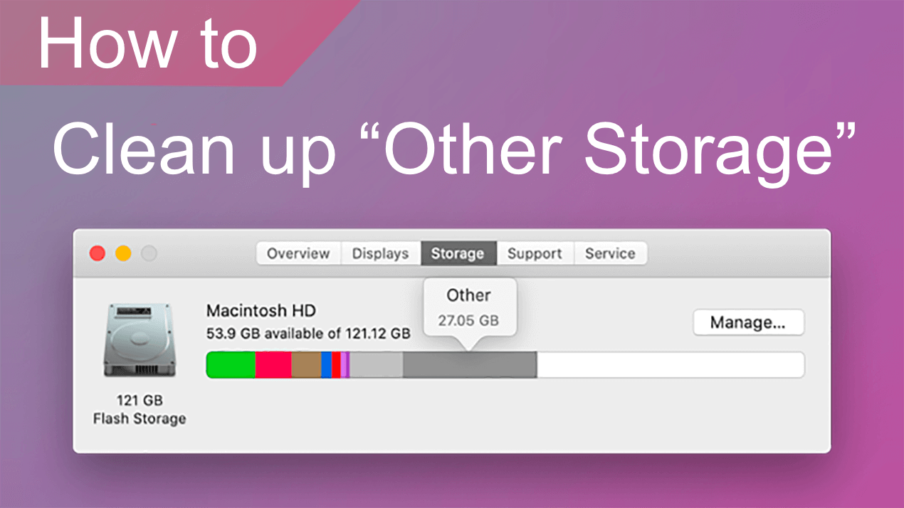 clean up other on mac